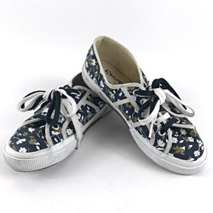 Superga Floral Canvas Sneakers